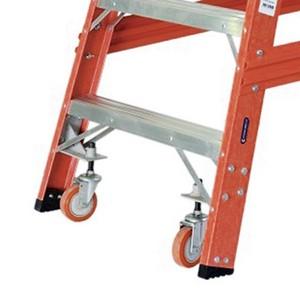 Escada de fibra de vidro extensível
