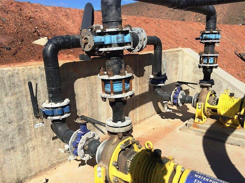 Empresa de projeto de rede hidráulica