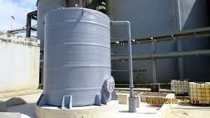 Mega tanques em fibra de vidro